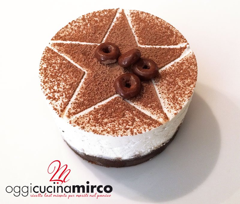 Mini cheesecake Pan Di Stelle e nutella