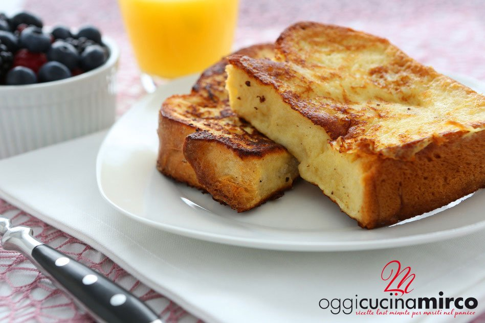 french toast, ricetta veloce