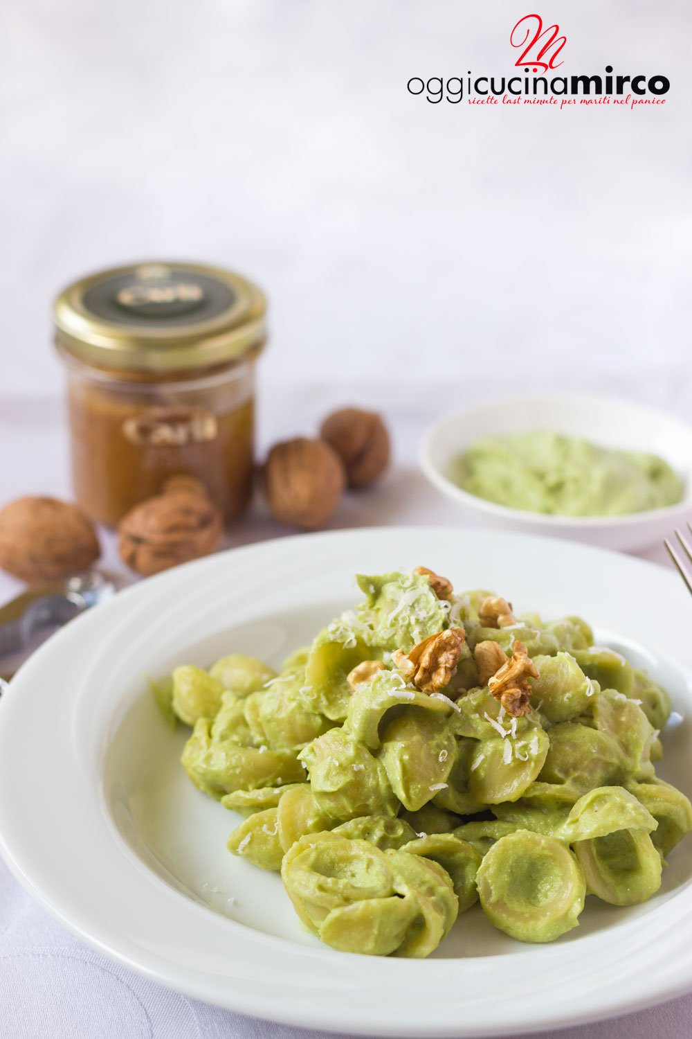 pesto di broccoli e noci