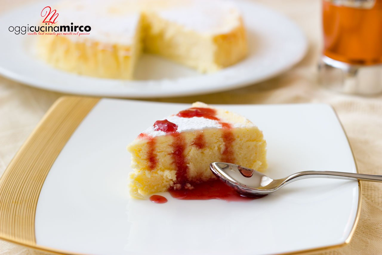 Japanese Cotton Cheesecake (cheesecake giapponese)