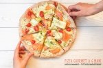 pizza gourmet a 4 mani
