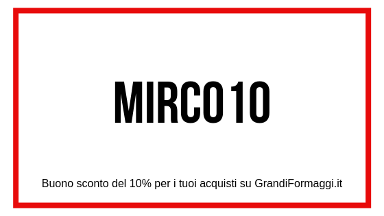 codice coupon grandi formaggi.it