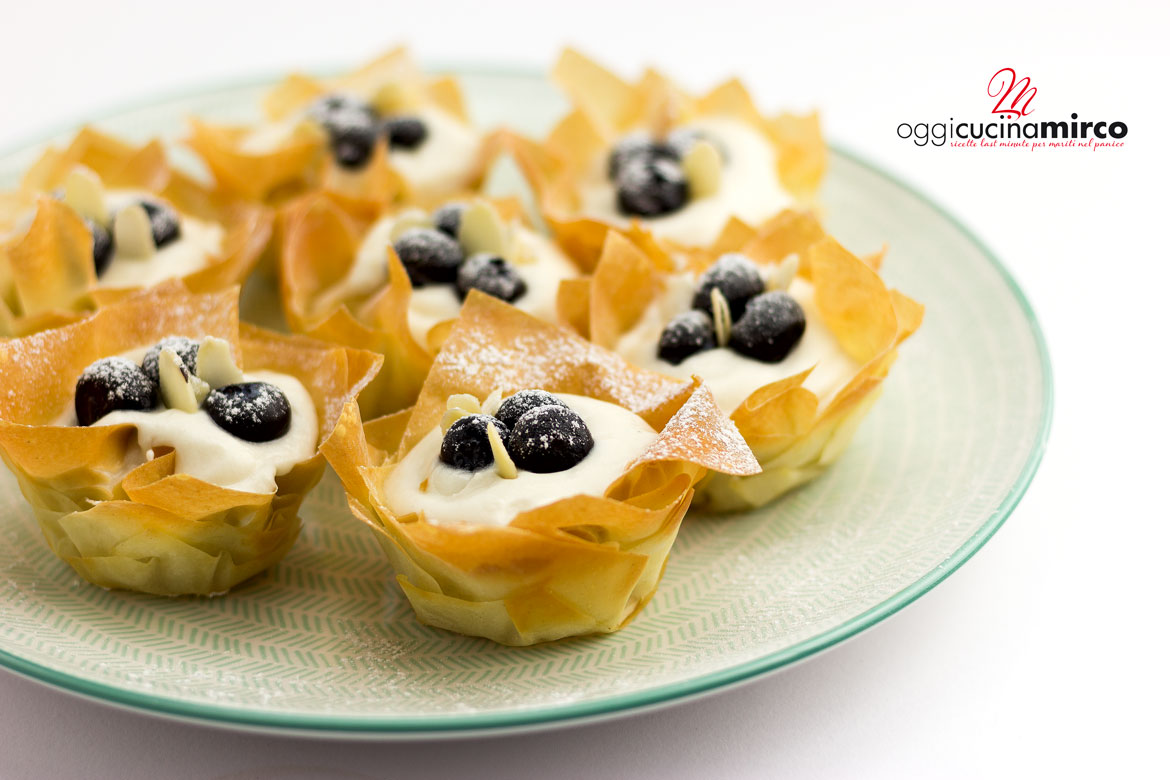 phyllo pastry cups